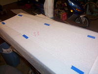 Name: DB 06.jpg Views: 166 Size: 76.2 KB Description: Wax paper is taped to the foam beds to prevent sticking.