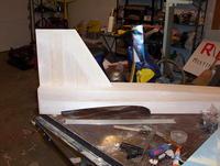 Name: 100_7294.jpg Views: 145 Size: 97.5 KB Description: Rudder test fit to fuselage.