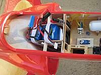 Name: BAe Hawk - batteries installed_low res.jpg Views: 166 Size: 78.2 KB Description: Massive 12S 5000mAh battery on board (2 x 6S).