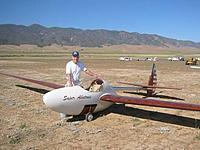 Name: JJ Sinclair and Bowlus Super Albatross.jpg Views: 35 Size: 49.1 KB Description: