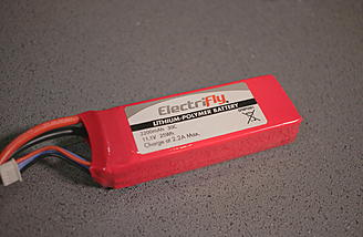 <b>Electrifly 3s 2200mah 30C Li-Po Battery</b>