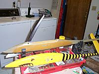 Name: DCP01627.JPG Views: 20 Size: 284.8 KB Description: The first TTTGU prototype. Yellow one is a V-tail (?!?)