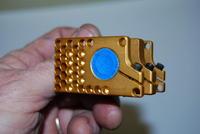 Name: DSC_0116.jpg Views: 431 Size: 45.0 KB Description: Mask over the bearing before the belt sanding.