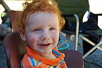 Name: DSC_3109.jpg Views: 270 Size: 61.6 KB Description: Ollie w/messy face. C'mon, gimme a BIG smooch!