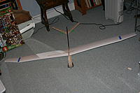 Name: IMG_6539.jpg Views: 32 Size: 244.9 KB Description: Assembled my 2M ALES build for the first time. White foam wings are sheeted now - lots of sanding left, but almost there!