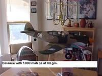 Name: P-40 CG 80 gm 009.jpg Views: 1346 Size: 60.3 KB Description: 80 grams and 1000 mah