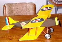 Name: Porky.jpg Views: 517 Size: 53.8 KB Description: My first build from a Tony design, the SE5A