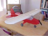 """Name: Blu-Pacer.jpg Views: 517 Size: 58.9 KB Description: Standard 42"""" Blu-Baby with 42"""" KFm2 wing and rounded tips."""