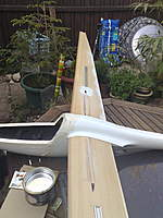 Name: 10062008022.jpg Views: 407 Size: 96.8 KB Description: this was all a while ago.  I have added anti-rotation aluminium dowels to near the TE, and cleaned the wings up no end.  Should also be glassed soon. I hope.