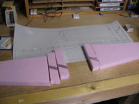 Name: 1-11-09e.jpg Views: 316 Size: 57.1 KB Description: Started the main wing construction…  Here's wing blocks…