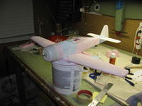 Name: 1-12-09A (2).jpg Views: 305 Size: 67.3 KB Description: Installed the aileron linkage & ailerons along with the wing tips…