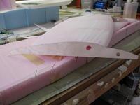 Name: 3-8-09d.jpg Views: 358 Size: 59.0 KB Description: Using birch ply we designed a sturdier  mount for the nacelles…