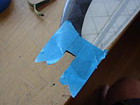 Name: DSC06396.jpg Views: 186 Size: 102.0 KB Description: Mask off around the notch to avoid getting epoxy all over the wing tip
