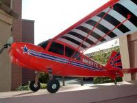 Name: Scale Patio.jpg Views: 86 Size: 44.6 KB Description: Parkzone Super Decathlon shown here with larger landing wheels and a tail wheel mod
