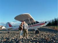 Name: CubwithWife.jpg Views: 88 Size: 101.4 KB Description: We like the Super Cub on days like this.