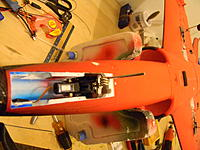 Name: step 10.jpg Views: 132 Size: 186.1 KB Description: Shows the nose retract in its location. Make sure to leave enough clearance behind the strut leg to allow for turning.
