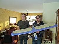Name: IMG_0708.jpg Views: 50 Size: 507.0 KB Description: My Boys with the same plane refurbished and changed to electric in 2016