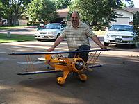 Name: Ron&waco_1.jpg Views: 34 Size: 303.1 KB Description: 1/5 scale Pica Waco