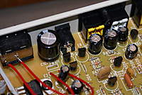 Name: DSC04217.jpg Views: 66 Size: 83.1 KB Description: power comes in on the connector just left of the yellow video out and to the right of the large capctr.   no signs of heat or smoke.