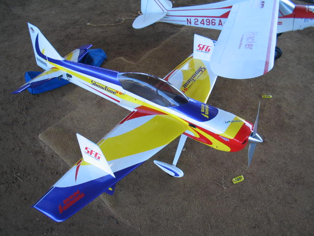 Name: hangar9showtime4d.jpg Views: 219 Size: 63.2 KB Description:  The Showtime, a super flying plane by Hanger Nine.