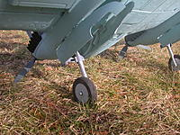 Name: BF-110(6).JPG Views: 11 Size: 1.03 MB Description: New Metal trunnion retracts with Oleo struts from HK (modified 110mm ones)  Note cut out in doors to accept the wheels which do not fully retract into the nacelles with 5 deg more forward rake in the retract mount.