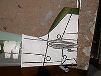 Name: fin mod (1).jpg Views: 196 Size: 219.8 KB Description: Difference between Mk21 (Mk14) vertical fin and Mk22/24 (spiteful type) fin. Note that the Cl of the horizontal tail on the model is too low compared to the FS aircraft!  I do not plan on changing this.