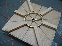 Name: 006.jpg Views: 78 Size: 96.7 KB Description: First of the spokes fitted.