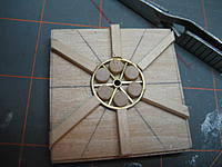 Name: 009.jpg Views: 121 Size: 97.8 KB Description: I'll use woodworking glue to fasten the pieces of dowel to the jig.  I'm hoping that heat will not affect the bond.  Once the glue dries I'll try to solder it together.