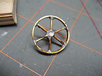 Name: 002.jpg Views: 99 Size: 85.4 KB Description: You can see one of the spokes is not properly aligned.