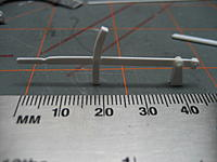 Name: 010.jpg Views: 60 Size: 74.6 KB Description: One handle assembly ready for attachment to the side rail.  Have to remember there are 2 lefts and 2 rights.  My luck I will make them all the same.
