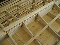 Name: 006.jpg Views: 80 Size: 102.9 KB Description: I found that I had to add a filler piece to the top of the keel so that the planking would fit properly to the top.