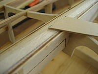 Name: 007.jpg Views: 87 Size: 77.9 KB Description: The filler did the job.  First plank in place.
