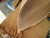 Name: 005.jpg Views: 241 Size: 788.7 KB Description: Cut water sanded to final shape.