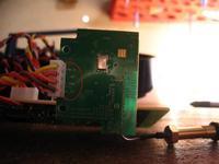 Name: RF board back (Large).jpg Views: 1713 Size: 67.2 KB Description: Labels ont eh back of the RF board, showing 5 V in