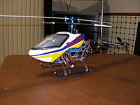 Name: HDX 450 SE V2.jpg Views: 441 Size: 65.5 KB Description: This heli was one of my first CCPM helis . Sadly i didnt know enought to build it . By the time i decided to put it together i already had a trex 450 pro so i sold it