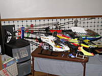 Name: My helicopters Oct 2010 003.jpg Views: 145 Size: 100.3 KB Description: As the weather has turned rainy i will be working on all my aircraft as possible getting any and all items in top shape for spring while sitting around just snapped a few more recent heli group photos