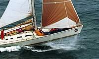 Name: Sydney To Hobart 1998 1.jpg Views: 243 Size: 53.2 KB Description: Brindabella in the Sydney to hobart 98