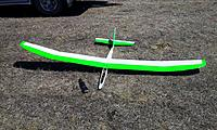 Name: 3m balsa Glider.jpg Views: 128 Size: 149.0 KB Description: Turnigy ERX transmitter with Frsky Telemetry module - Receiver battery voltage is displayed on the 9X display.