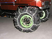 Name: TireChainPics 002.jpg Views: 204 Size: 117.1 KB Description: Just looks cool!! Really tears it up with a 3s LiPo pack!!