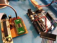 Name: IMG_0672.jpg Views: 2648 Size: 30.6 KB Description: My setup: a ATMEGA168 running arduino.