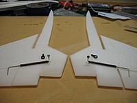 Name: IMG_0401.jpg Views: 451 Size: 110.8 KB Description: Basic layout of the rudder linkages.