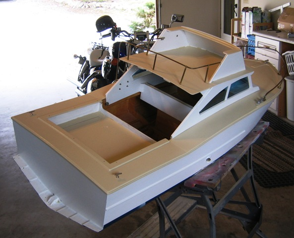 Rc Cabin Cruiser Plans: Carollza Access Plywood Cabin