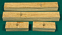 Name: DSC_7165.jpg Views: 19 Size: 2.01 MB Description: Root rib and sub-rib blanks tacked together and drilled in threes.