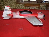 Name: P1200182.jpg Views: 296 Size: 92.3 KB Description: The foam was protecting the paint from the masking tape used to secure the plane in the box.