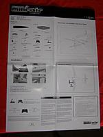Name: P1200187.jpg Views: 270 Size: 82.8 KB Description: Instruction poster w/ spare parts listing and CG range