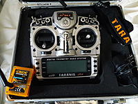 Taranis X9D Plus with orange DMSX, DSM2 external module - RC Groups