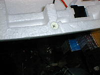 Name: DSC00016.jpg Views: 102 Size: 141.5 KB Description: here it is seated in the hole side of the SSS. when your happy with the fit back out and glue  the anchor and screw it back in..wait till the glue dries.