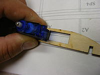 Name: 2012_0121N170005.jpg Views: 320 Size: 147.6 KB Description: Checked the fit of my servos.  Oops they wont fit.
