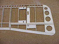 Name: 2012_0121N170049.jpg Views: 293 Size: 85.1 KB Description: Do the same with the aileron.  But additionally you have to sand a bevel on the aileron LE for movement.  I will be using CA hinges so the Aileron is beveled in the middle.  Now it is a wing.