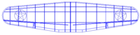 Name: TBD6.png Views: 159 Size: 6.4 KB Description: After all the outlines have been traced, copied and moved, I then scaled the plan to the size I wanted.  The reason I did not scale the original plan before tracing is that since the original plan is a scan, or picture, the lines on the plan also get larg
